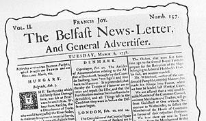 Belfast Newsletter 1737-1800